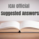 CA IPCC MAY 2016 SUGGESTED ANSWERS