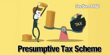 Presumptive Income under Income Tax Act, 1961