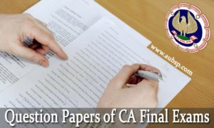 Download CA Final financial Reporting Question paper Nov 2016