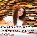 DOWNLOAD CA IPCC RTP May 2017   Download Revision Test Papers