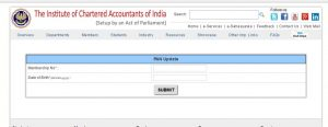 Update PAN details to avoid blocking of e-filing account by the IT Department