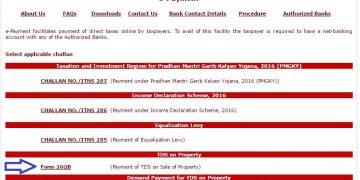 TDS on sale of Property U/S 194IA