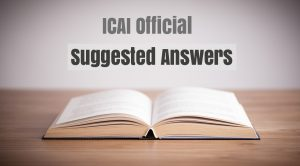 CA IPCC May 2017 Question Papers & suggested answers