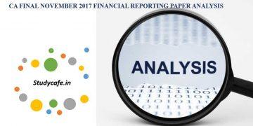 CA Final November 2017 Financial Reporting Paper Analysis
