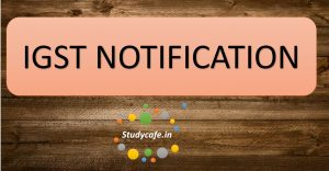 IGST Notification No. 6/2017 – Integrated Tax Date 28-06-2017