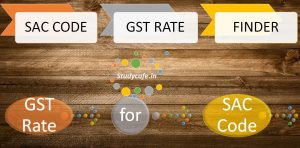 SAC Codes GST Rates for Services