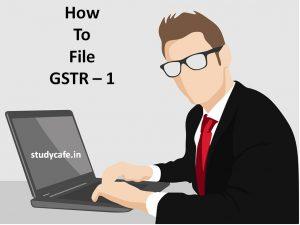 How to file GSTR -1 | GST Return Filing Offline