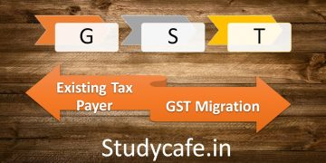 GST Registration procedure for existing Tax Payers of VAT Service Tax