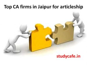 top ca firms in jaipur for articleship