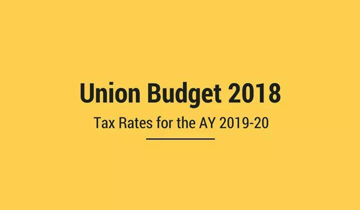 Income Tax Slab Rates for FY 2018-19 | AY 2019-20