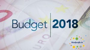 Budget 2018 Amendments in relation to ICDS