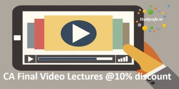 Buy Video Lectures for CA Final May 2018 | Nov 2018