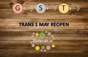 Bombay High Court on GST Tran1 blockage