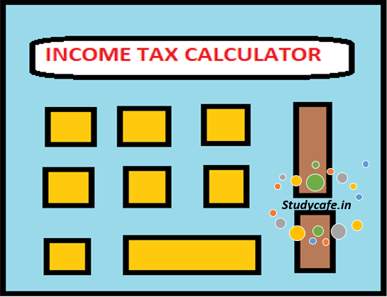 Income Tax calculator for the FY 2018-19