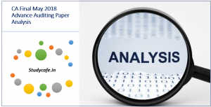 CA Final May 2018 Advanced Auditing (Audit) Paper Analysis