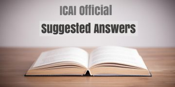 CA IPCC Nov 2019 Question Papers with Suggested Answers