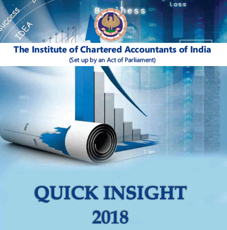 Download Quick Insight 2018   Institute of Chartered Accountants of India
