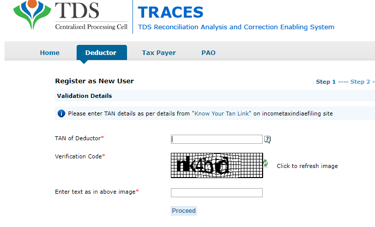 Filing TDS return | Utilities for Filing and generating TDS returns online