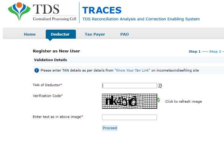 Filing TDS returns | Utilities for Filing and generating TDS returns online