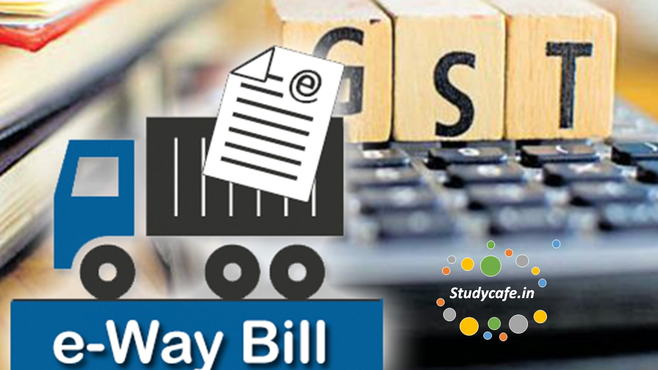 E-way bill will be applicable for intra-state movement of goods in Goa from 1st June 2018