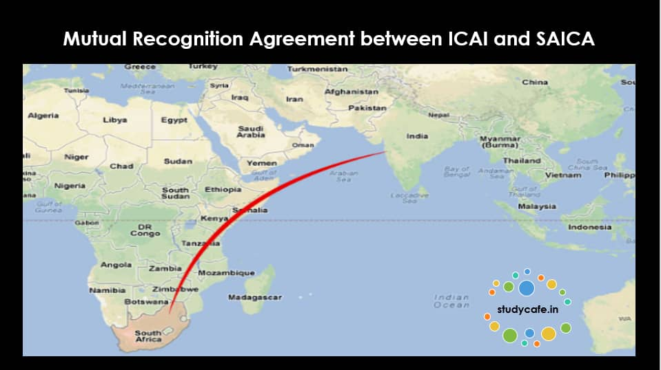 Mutual Recognition Agreement Between Icai And Saica Studycafe
