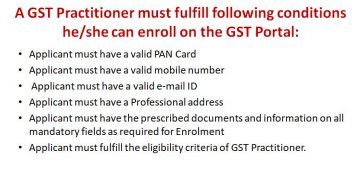 Who is a GST Practitioner | How to Register as a GST Practitioner