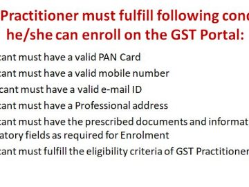 Who is a GST Practitioner   How to Register as a GST Practitioner