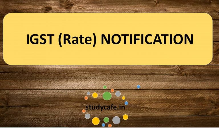 24/2018-Integrated Tax (Rate) : Seeks to insert explanation in an entry in notification No. 9/2017  Integrated Tax (Rate)