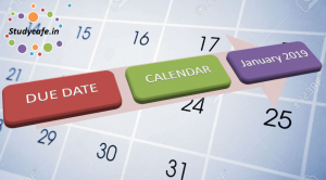 Corporate Compliance Calendar - January 2019, GST Due date Calendar for Jan 2019, Compliance Calendar for January 2019