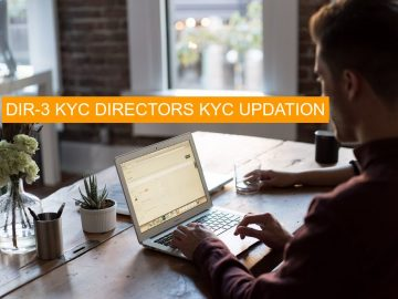 Is DIR-3 KYC Due date for FY 2019-20 is 30th April 2019