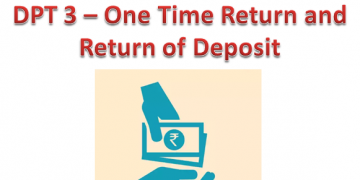Deposit Compliance ? eform DPT 3 ? One Time Return and Return of Deposit