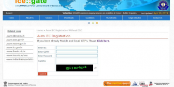 Auto registration for ICE holders : No digital signature is required for ICE registration
