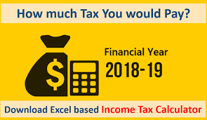Income Tax Calculator for FY 2018-19   AY 2019-20