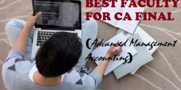 Best Faculty For CA Final Advanced Management Accounting
