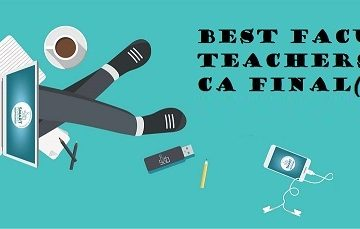 CA Final SFM Best Faculties | List of Faculties for CA Final SFM