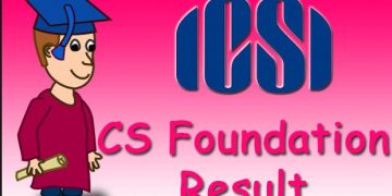 CS Foundation result of june 2019 to be declared on the 25th July 2019