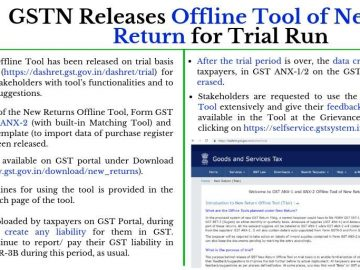 How to use the Offline Tool planned under New GST Return