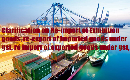 Clarification on Re-import of Exhibition goods