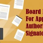 Board Resolution For Appointment of Authorised Signatory in Gst