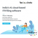 ITR filing now on the cloud with TaxCloud India
