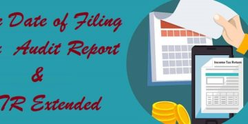 Due Date of Filing Tax Audit Report & ITR extended to 30th Nov 2019