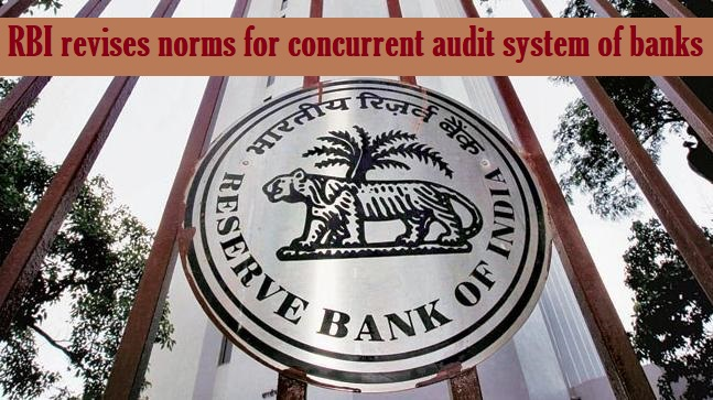 RBI revises norms for concurrent audit of banks