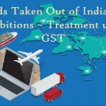 Goods Taken Out of India for Exhibitions – Treatment under GST