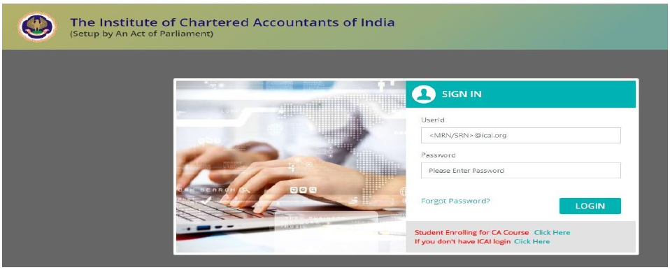 How to make login of Fresh Applicant Foundation of Direct Entry