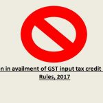 Changes in GST ITC Availment Conditions