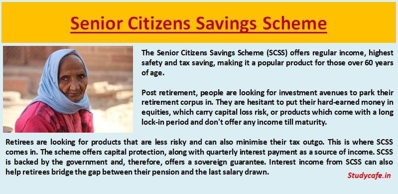 Senior Citizens Savings Scheme
