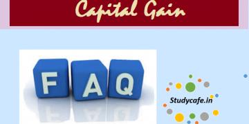 FAQs on Capital Gains
