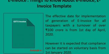 E-Invoice : Things To Know About e-Invoice, E-Invoice Template