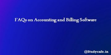 FAQs on Accounting and Billing Software