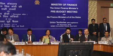 Ahead of the 38th GST council meeting Smt. Nirmala Sitharaman holds Pre-Budget consultation